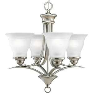 Progress Lighting Trinity 100W 4-Light Medium E-26 Incandescent Chandelier PP4326