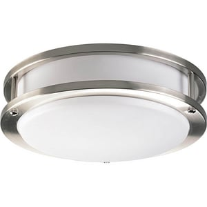 Progress Lighting 1 Light 22W 10-2/5 in. Acrylic Round Fluorescent Light PP7249EBWB