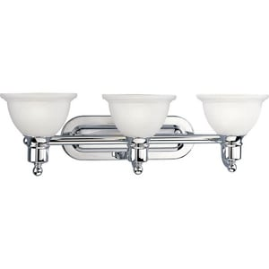 Progress Lighting Madison 27-1/2 in. 100W 3-Light Vanity Fixture PP3163