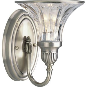 Progress Lighting Roxbury 7 in. 100W 1-Light Vanity Fixture PP2724