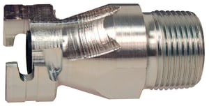 Dixon Valve & Coupling Plated Steel MIP Dual Lock Air Coupling DPM16