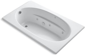 Kohler Windward® 72 x 42 in. Drop-In Acrylic Bathtub with End Drain K1114