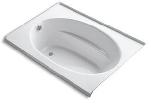 Kohler Windward® 60 x 42 in. Left-Hand Acrylic Flange Bath Tub K1113-L