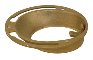 PROFLO® 4 x 4 x 1-1/2 Brass Outside Stem Closet Flange PFCF8