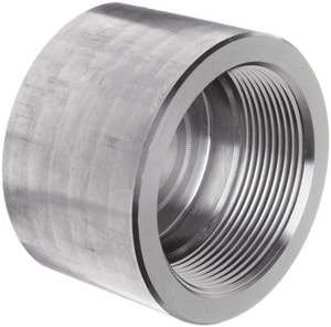 3000# Threaded 304L Stainless Steel Cap IS4L3TCAP