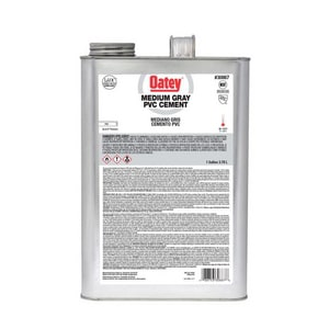 Oatey 6-Pack PVC Medium Body Cement in Grey O30887