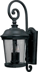 Maxim Lighting International Dover 10 in. 60 W 3-Light Candelabra Lantern M3024CDBZ