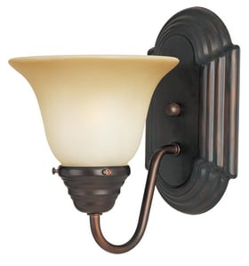 Maxim Lighting International Essentials 100W 1-Light Wall Sconce in Oil Rubbed Bronze M8011WSOI