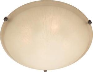 Maxim Lighting International Malibu 60 W 4-Light Medium Flush Mount Ceiling Fixture M11060W