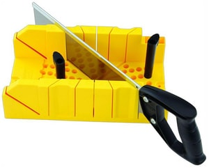 Stanley 14 in. Clamping Mitre Box with Saw S20600