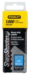Stanley Heavy-Duty Staple in Grey STRA704T