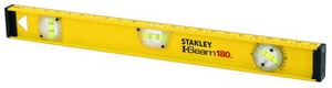 Stanley I-Beam Aluminum Level with Scale S4232