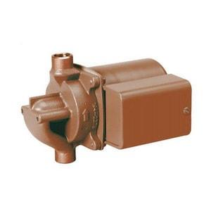 Taco 1/2 in. 115 V 1/40 hp Bronze IFC Sweat Circulator Pump T006BC71IFC