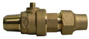 A.Y. McDonald CC x Flared Brass Corporation Stop M74701B