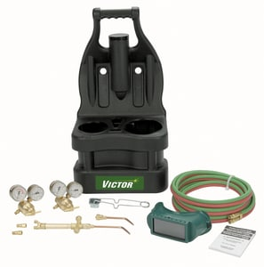 Victor Turbo Torch Tote Kit Less Tanks TCSTP