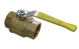 FNW 2-Piece Threaded Ball Valve with Locking Lever Handle FNW420SSLL