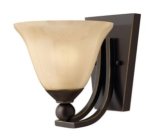 Hinkley Lighting 7-4/5 in. 100W 1-Light Wall Sconce H4650