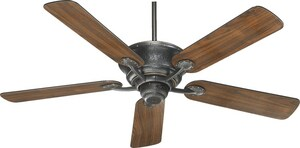 Quorum International Liberty 52 in. 5-Blade Ceiling Fan in Old World Q4952595