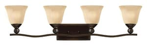 Hinkley Lighting Bolla 100W 4-Light Bath Vanity Fixture H5894