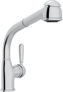 Rohl Country Kitchen 1-Hole Pull-Out Kitchen Faucet with Single Lever Handle and 10-11/16 in. Spout Height RR7903LM