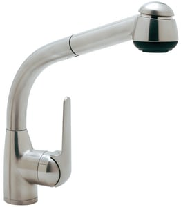 Rohl De Lux Pull-Out Kitchen Faucet with Single Lever Handle RR7913