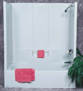 Bathcraft 59-3/4 x 33 in. Tub and Shower B7504BIS