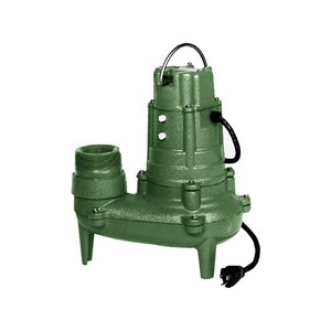 Zoeller 1/2 hp Cast Iron Non-Automatic Sewage Pump Z2680002