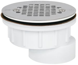 Sioux Chief 2 in. Screw- On Shower Drain Strainer S8252PFS