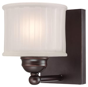 Minka 100 W 7-3/4 in. 1-Light Medium Wall Sconce M6731167