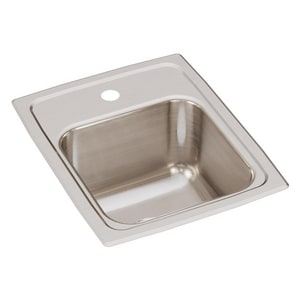 Elkay Lustertone® Single Hole Kitchen Sink ELR13161