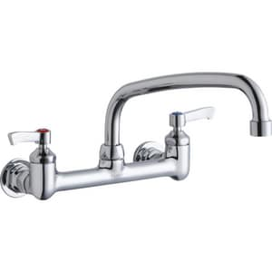 Elkay 2-Hole Lavatory Faucet with Double Lever Handle ELK940AT10L2H
