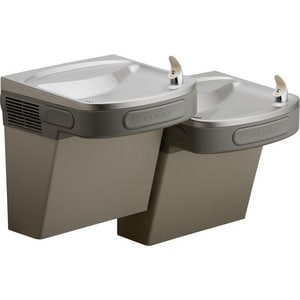 Elkay Filtered Wall Mount Bi-Level ADA Cooler in Light Grey ELZTL8LC