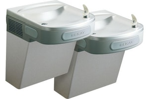 Elkay 25-5/16 in. 8 gph Wall Mount Bi-Level ADA Cooler EEZTL8C