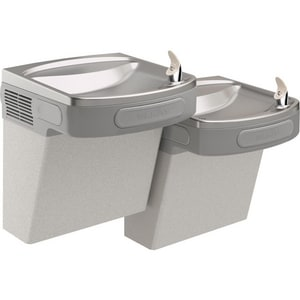 Elkay Wall Mount Bi-Level ADA Cooler in Light Grey EEZSTL8LFC