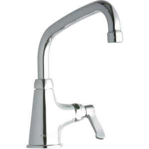 Elkay Classroom 2.2 gpm Single Lever Handle Deckmount Classroom Faucet in Polished Chrome ELK535AT08L2
