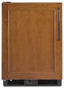Kitchenaid Architect® 5.7 CF Compact Refrigerator With Left-Hand Door Swing in Black KKURO24LSBX