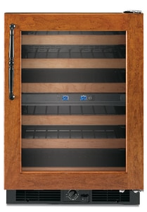 Kitchenaid Architect® 24 in. Wine Cooler With Right-Hand Door Swing KKUWO24RSBX