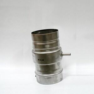 Noritz America 4 in. Stainless Steel Drip Tee Horizontal Condensate Drain NDT4