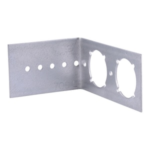 Holdrite HEXrite Galvanized Steel L-Bracket With Keyed Hole H709L