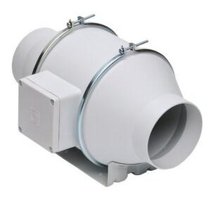 S&P USA Ventilation 7-3/8 in. Duct Mix Flow Fan STD100X