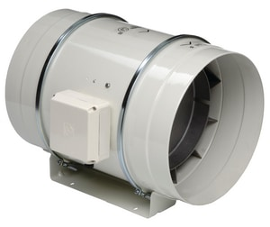 S&P USA Ventilation 10 in. Duct Mix Flow Fan STD250