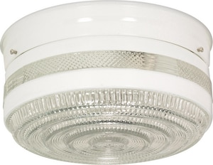 Nuvo Lighting 60W 2-Light Flushmount Ceiling Light N77099