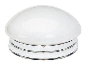 Nuvo Lighting 2 Light 60W 9-1/2 in. Flush Mount Ceiling Fixture N77