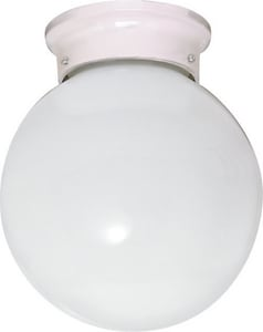 Nuvo Lighting 8 in. 1-Light Flushmount Globe Ceiling Light N60430