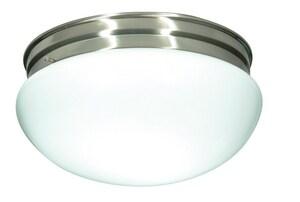 Nuvo Lighting 60W 2-Light Flushmount Ceiling Light NUV76605