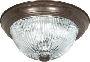 Nuvo Lighting 60W 2-Light Flushmount Ceiling Light N76607