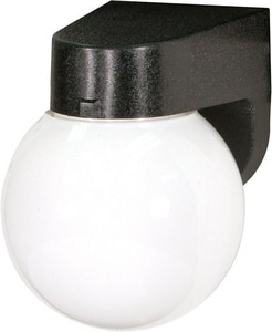 Nuvo Lighting 1-Light 13W Outdoor Wall Light in Black N77728