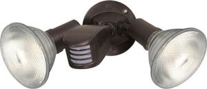 Nuvo Lighting 150W 2-Light Medium Base Wall Mounted Flood Light with Motion N76503