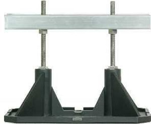 Mapa Manufacturing 8 in. Aluminum Roof Support with 3-6 in. Adjustable Height MMT8SA6