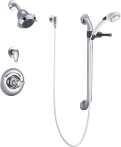 Delta Faucet Teck® Commercial 2 gpm Shower Trim with Single Lever Handle DT13H323